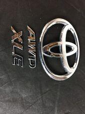 TOYOTA TRUNK EMBLEM BACK HATCH/DECK LID GENUINE OEM CHROME T BADGE sign symbol