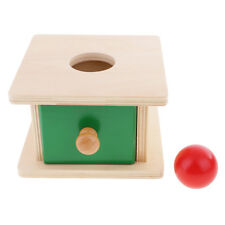 Montessori Material Toys Kids Baby Training Learn Spherical Target Ball Box
