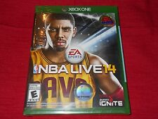 NBA LIVE 14 XBOX ONE FACTORY SEALED!!!  FREE FAST SHIP!!!!!  L@@K!!!!!