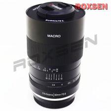 7artisans 60mm f/2.8 1:1 Macro Lens for Canon EOS M EF-M mount APS-C M100 M5 M3