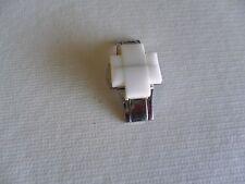 EMPORIO ARMANI Ceramic clasp WHITE  AR1404, AR1408 18MM
