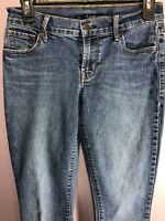 Old Navy Size 2 Jeans Denim Blue Medium Wash Skinny Slim Low Rise Juniors ZO30