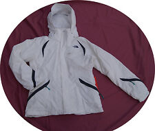 Women North Face Winter Ski Jacket COAT Parka Kira Triclimate White Large L