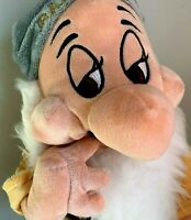 "Disney Store Exclusice Snow White's Dwarf ""Mc Bashful"" 14 Inch Plush"