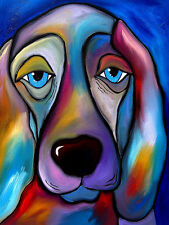 THE REGAL BEAGLE - POP ART - FINE ART PRINT POSTER 13x19 - DOG FS010