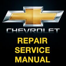 CHEVY COLORADO 2012 2013 2014 2015 2016 2017 REPAIR SERVICE WORKSHOP MANUAL