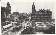 Postcard - Princes Street East End Edinburgh Scotland