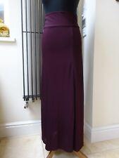 Ralph Lauren Ladies Long Plum Purple Evening Skirt Size 6/8 New with tag