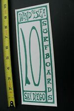 Wind An Sea Surfboard Surf Club Green White Classic V21b Vintage Surfing Sticker