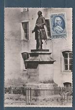 carte  1er jour  journée du timbre   D'Argenson  21 Montbard  1953