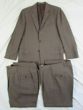 Mint Vtg 1950s Fleck Drop Loop Wool 3 Pc Suit Jacket & 2 Pants 50s Hollywood Vlv