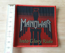 MANOWAR woven Patch Into Glory Ride