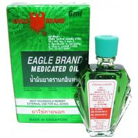 6 ml EAGLE BRAND MEDICATED OIL Relief of Aches Pain of Muscles