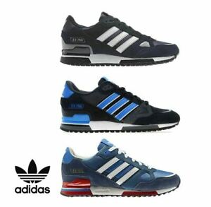 ADIDAS TRAINERS ORIGINALS ZX 750 MENS BLUEBIRD NAVY WHITE BLACK SNEAKERS SHOES