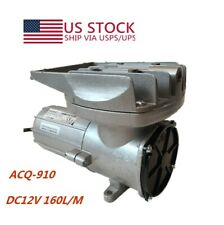 Compressor Air Pump Permanent Magnetic Aerator BOYU DC12V 160L/M Fish Tank