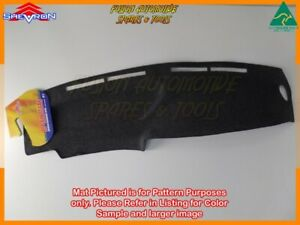 Black Dashmat for KIA Pregio 6/2002-5/2004 Dash Mat DM890