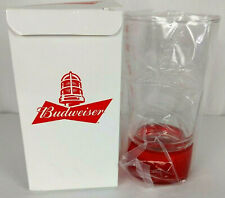 Budweiser Red Light Glass 467g New In Box Sync Bluetooth Goals To Celebrate
