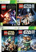 Xbox 360 LEGO Star Wars Xbox 360 Games Mint Condition - Super Fast Delivery