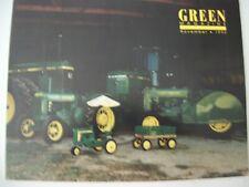 John Deere 1940 Br,1947 Ao series 20 pedal tractor, Green Magazine Nov 1992