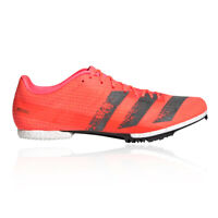 adidas Unisex adizero MD Running Spikes Traction Red Sports Breathable