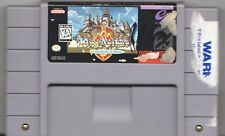 Video Game - Super Nintendo SNES KING ARTHUR & THE KNIGHTS OF JUSTICE Cartridge