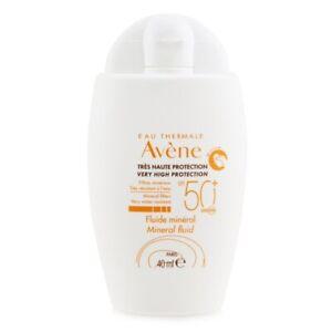 Avene Very High Protection Mineral Fluid SPF 50+ 40ml Womens Skin Care