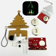 Music Flash Tree LED Flashes CR2032 Battery DIY Kit for Happy Birthday Christmas