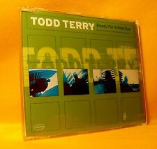 MAXI Single CD Todd Terry Ready For A New Day 6TR 1998 House, Tribal
