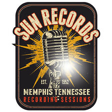 Sun Records Aufkleber Sticker Rockabilly Hotrod Oldschool US-Cars Retro Gasoline