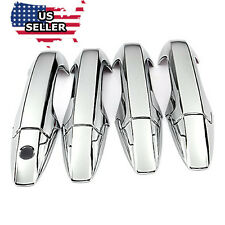 NEW Triple Chrome Plated Door Handle Cover For 2007-2011 Honda CR-V Sedan