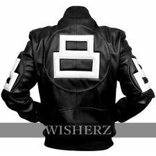 8 Ball Pool Jacket,8 Ball Pool Seinfeld Michael Hoban MI Black Leather Jacket