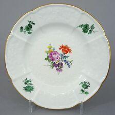 (MT514) Meissen Teller Gotzkowsky Relief, Blumen Motiv 30er Jahre 1.Wahl