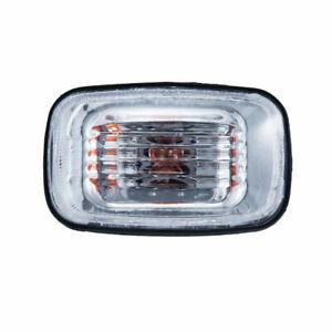 Clear Lens Front Fender LED Side Marker Light For Toyota Hilux 2WD 4WD Surf 130
