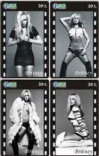 Britney Spears 4 telefoonkaarten/télécartes  (BS63-4c)