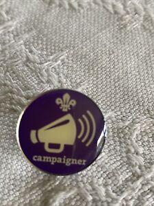 Scout Metal Badge. Campaigner.