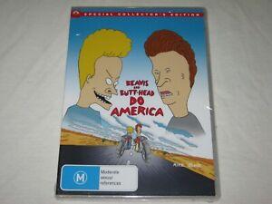 Beavis And Butt Head Do America - Brand New & Sealed - Region 4 - DVD