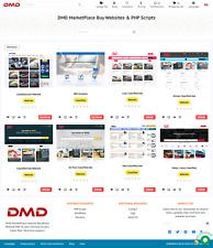 Established Website MarketPlace & Digital Products Business Website For Sale