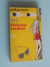 Andrew York - Il Falcone Svedese / Gialli Garzanti n. 121