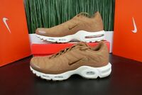 Nike Air Max Plus Quilted TN Running Shoes Brown Ale Wheat 806262-200 Multi Size