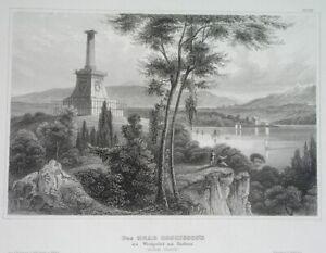 1850 UNUSUAL ORIGINAL WEST POINT NEW YORK USMA UNITED STATES KOSCIUSZKO POLAND