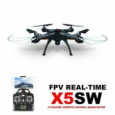 SYMA X5SW Headless Drohne mit 2MP FPV WiFi  Kamera RC Quadcopter Copter Schwarz