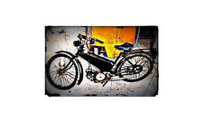 1947 new hudson autocycle Bike Motorcycle A4 Photo Poster