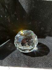 """Swarovski Prism 2"""" Paperweight Marked"""