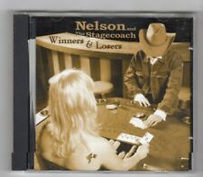 (HZ50) Nelson & The Stagecoach, Winners & Losers - CD