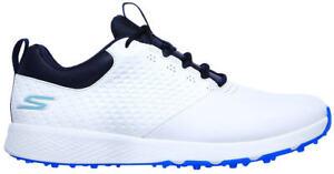Skechers Elite 4 Golf Shoes 54552 WNV White/Navy Men's New