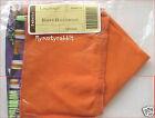 Longaberger 2004 Happy Halloween Basket Fabric Liner ~ Orange - New