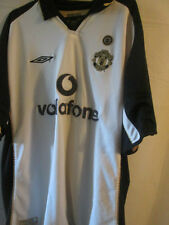 Manchester United 2000-2002 Centenary Football Shirt Size XL /3033