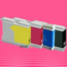 4P LC51 BK C M Y SET INK CARTRIDGE FOR BROTHER DCP-130C