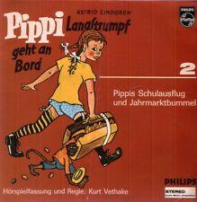 Pippi Langstrumpf geht an Bord vol.2  7 EP VINYL Hörpiel  PHILIPS STEREO