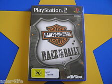 HARLEY-DAVIDSON MOTORCYCLES RACE TO THE RALLY - PLAYSTATION 2 - PS2